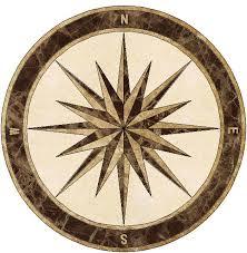 decorative floor tile medallions wood floors