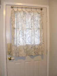 front door side window treatments