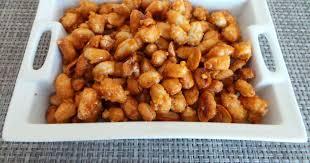 cuisiner les chouchous chouchous ou cacahuètes caramélisées recette par my culinary