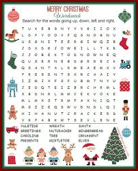 christmas word search printable woman of many roles