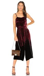 gaucho jumpsuit and ally gaucho jumpsuit wine modesens
