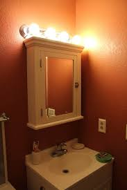 White Bathroom Medicine Cabinet Awesome Bathroom Medicine Cabinet Light Fixtures With Mirror Doors