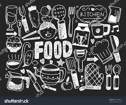 Kitchen Background Cooking Kitchen Background Stock Vector 236865829 Shutterstock