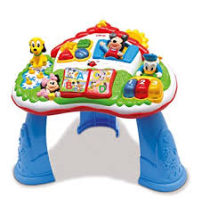 mickey mouse table l clementoni activity table mickey mouse amazon co uk toys games