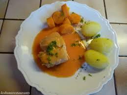 cuisiner dos cabillaud dos de cabillaud sauce aurore recette iterroir