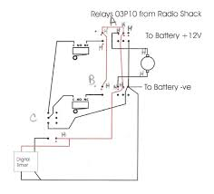 automatic dual battery changeover relay circuit electronic in 12v