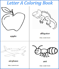 alphabet coloring book alphabet zoo coloring pages