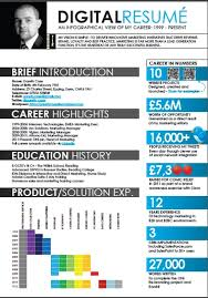 Infographic Resume Samples by 25 Infographic Resume Templates Free Premium Collection Resume