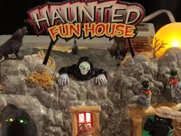 studio 56 halloween department 56 snow village halloween haunted fun house animated 1
