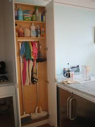 broom closet cabinet u2014 steveb interior how to organize broom closet
