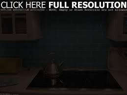 blue glass backsplash tile home improvement design and decoration