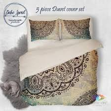 Tattoo Bedding Bohemian Bedding Indian Mehndi Henna Tattoo Style Mandala Duvet