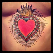 voodoo heart tattoo andrea furci the family business dia de los muertos