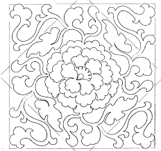Chinese Design by Chinese Medallion Couching Soutache Embroidery Pattern Chinese