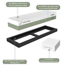 best whetstone for kitchen knives premium sharpening 2 side grit 3000 8000 whetstone best
