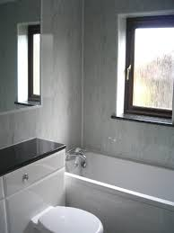 grey and white country bathroom with wall panels bathroom bathroom