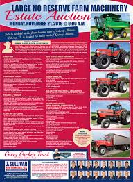 sullivan auctioneersupcoming events large no reserve farm