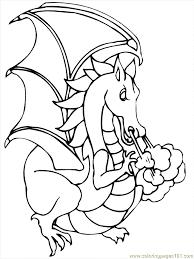 dragon cartoon 33 coloring free dragon ball coloring