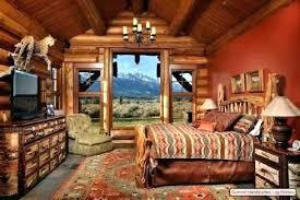 log cabin home interiors log home interiors bedroom rustic log cabin rustic bedroom log