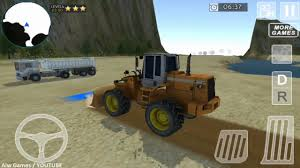 mighty loader and dump truck sim new android gameplay hd youtube