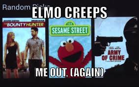 Elmo Meme - killer elmo meme by pablo kunz memedroid