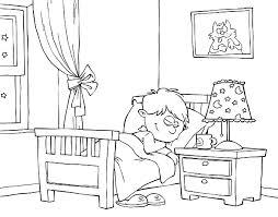 dessin chambre coloriages d objets chambre