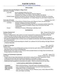 Sample Associate Attorney Resume by Cover Letter For Internship Law Office