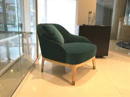 Armchair Velvet Armchair In Rubelli Velvet Wooden Natural Base Paris Paris