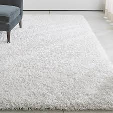 long shag rug memphis white shag rug crate and barrel