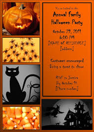free hallowen halloween birthday invitations templates festival collections