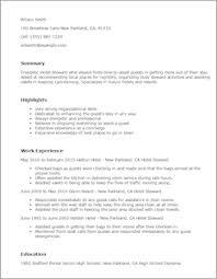 Hospitality Resume Sample by Hotel U0026 Hospitality Resume Templates To Impress Any Employer