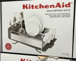 Coleman Stainless Steel Cooler Costco by Kitchenaid Kn896fpass Stainless Steel Dish Drying Rack Costco