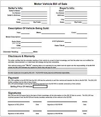 bill of sale template u2013 39 free word excel pdf documents