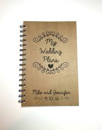 personalized wedding planner my wedding plans wedding plan book wedding ideas custom