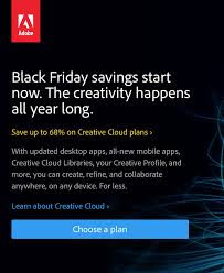 playstation plus 1 year membership black friday adobe black friday 2017 sale on creative cloud cc blacker friday