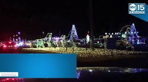 christmas lights in phoenix 2017 illumination az symphony of light christmas display opens in north