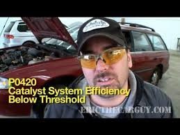 2005 honda odyssey p0420 p0420 how to diagnose a bad catalytic converter ericthecarguy