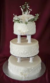 lace wedding cakes peony roses and lace wedding cake cakecentral