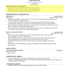 Resume Profile Section How To Write General Cv Cover Letter Sample For Job Writing Resume