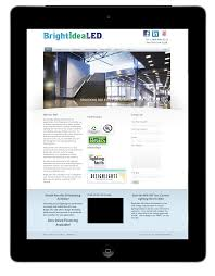 Idea Website Bright Idea Led Voted 2017 Best Website Design Company