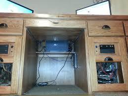 Dual Desk Home Office Desk Setup Tour Youtube Idolza