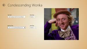 Meme Generator Wonka - windows 8 app to create funny memes meme generator