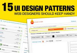 gui design patterns ui design patterns web designers should keep handy