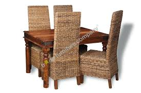 Jali Dining Table And Chairs Jali Dining Table And Chairs Rattan Dining Chairs