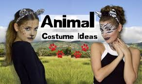 easy animal costume makeup hair leopard lion u0026 zebra youtube