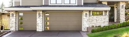 Dalton Overhead Doors Outdoor Appealing Home Exterior Decoration With Glass Window And