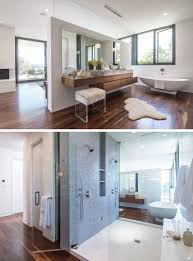 Master Bedroom With Bathroom by This Master Bathroom With Dual Showers And Standalone Bathtub Is
