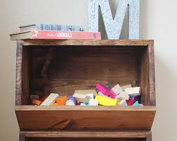 Storage Shelf Wood Plans by Storage Bins Woodworking Plans