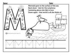 letter m worksheets for preschool preschool and kindergarten