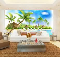 3d Wallpaper For Living Room by Online Get Cheap Wallpaper 3d Beach Aliexpress Com Alibaba Group
